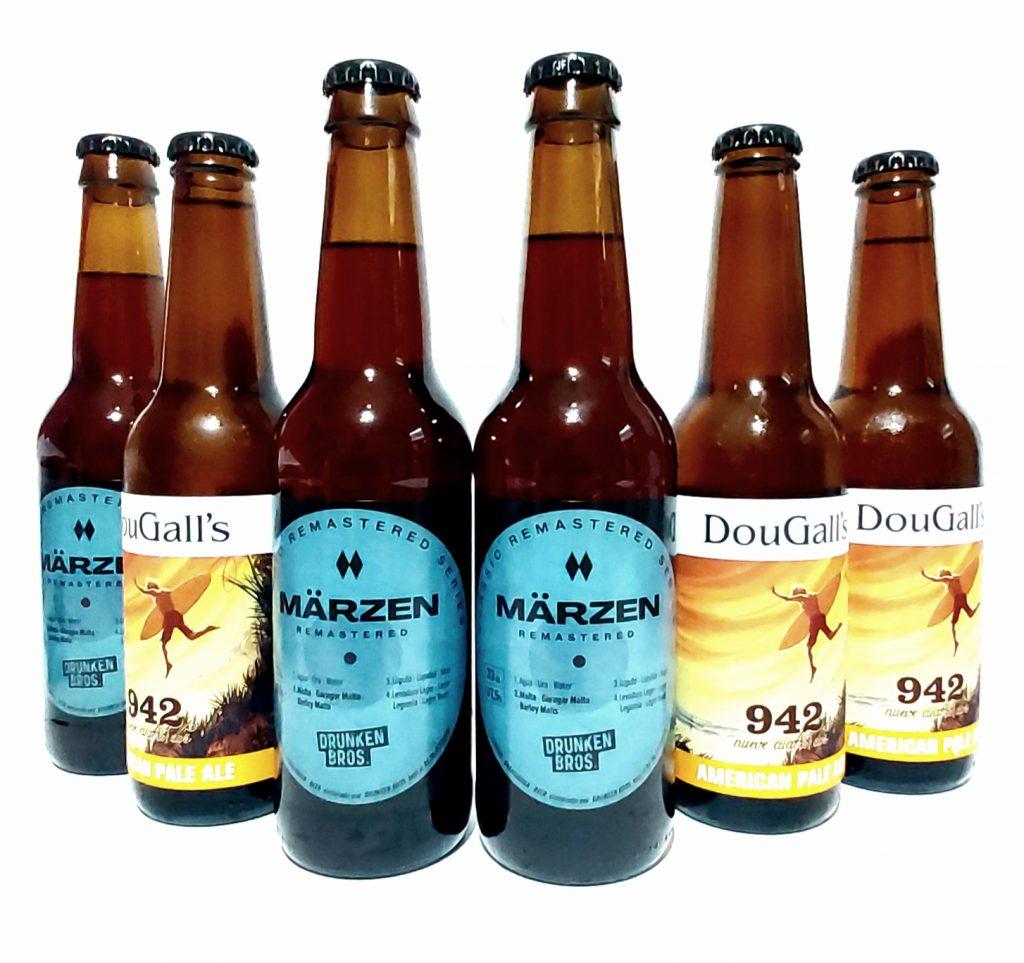 drunken bros dougalls cerveza